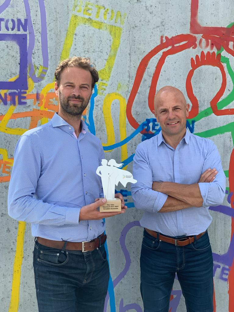 Award uitreiking Cleantech Flanders Hero Circulaire Economie 2021 (5)